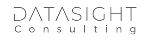 Logo Datasight Consulting #575959 + Oscuro Trasnparente